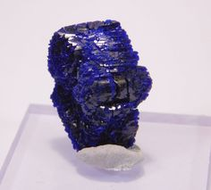TOP unbroken Blue crystal AZURITE from Morocco  23 ct