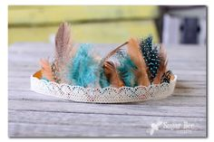Thanksgiving Craft alert - here's how to make cute Feather Headbands