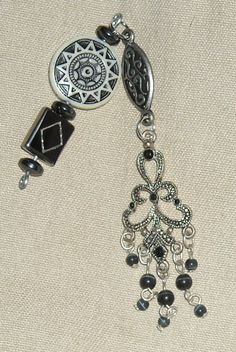 Rear View Mirror Car Charm Silver Tone and by CobaltMoonJewelry, $5.00