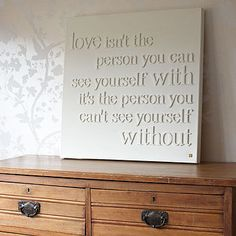 Personalised Love Isn't Canvas