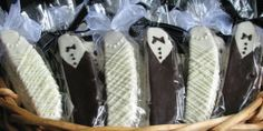bride and groom biscotti | BISCOTTI WEDDING FAVORS