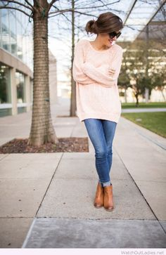 Lovely light pink sweater More
