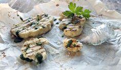 Rapea kukkakaalipihvi on erinomainen alkupala tai lihan lisuke.