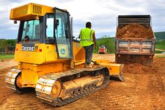 Fill material is placed on the building pad for new Community Center at Brunswick Crossing, a planned community in Brunswick, Maryland copy by Brunswick Crossing, via Flickr