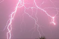 aesthetic, lightning, pastel, pink, tumblr - image #3860111 by ...