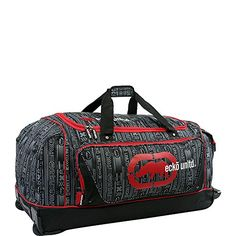 Carry-on Luggage Collections   Ecko Unltd Steam 32 Large Rolling Duffel Bag  Red  One Size -- See this great product. Note:It is Affiliate Link to Amazon.