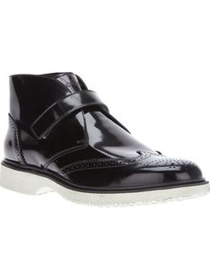 HOGAN - patent ankle boot 6