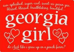 Georgia girl through and through