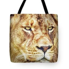 #lion #tote #bag #wallart #wildlife