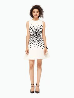 hydrangea embellished dress | Kate Spade New York $598