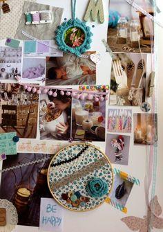 Moodboard de M'agrada com queda para hello! Blogging @hellocblogging #hellocreatividad #blog