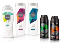 purple with green shampoo packaging design - Google Search