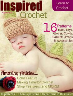 REVISTAS DE MANUALIDADES GRATIS: Inspired Crochet august 2013