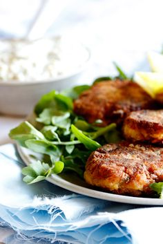 Smoked Fish Cakes with Apricot Tartar Sauce (All Content © 2012 www.simply-delicious.co.za)