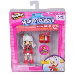 Shopkins Happy Places Puppy Parlor Doll with Petkin - Sara Sushi