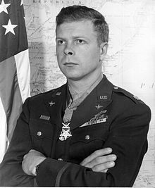 "Richard Ira ""Dick"" Bong (September 24, 1920 – August 6, 1945) is the United States' highest-scoring air ace, having shot down at least 40 Japanese aircraft during World War II. He was a fighter pilot in the U.S. Army Air Forces (USAAF) and a recipient of the Medal of Honor. All of his aerial victories were in the P-38 Lightning, a fast and well-armed fighter aircraft."