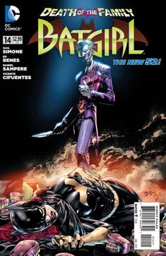 Batgirl #14 - A Courtship of Razors (Issue)