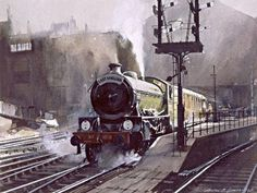Fine Art Prints of Railway Scenes & Train Portraits - The East Anglian by Brian Lancaster