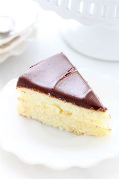 "Boston Cream Pie (BHG). ""It's lovely and rich in vanilla with the pastry cream. Perfect in texture—bodied, but not heavy, light but not airy."""