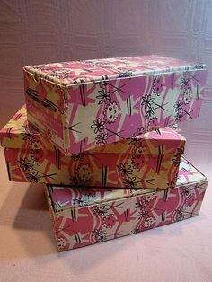 3 Vogue Ginny Doll Boxes