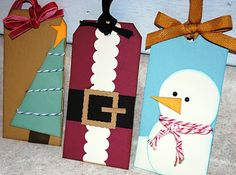 Fun tags! - Click image to find more DIY & Crafts Pinterest pins