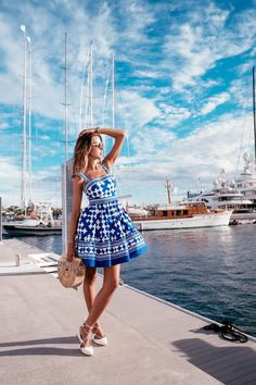Pretty summer outfits you must to try in holiday 44 Spring Summer Fashion, Spring Outfits, Viva Luxury, Vacation Outfits, Photography Poses, Wedding Photography, Passion For Fashion, Dress To Impress, Cute Outfits
