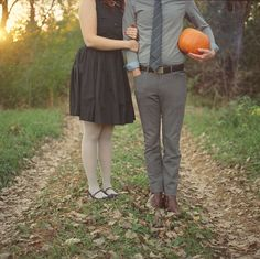 Well-Groomed: Well-Groomed Engagement: Pumpkin Head
