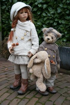 Himstedt Kinder redressed by Marjolein/rosmaini with rosie  2006 series
