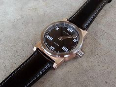 INTERIMLAMBWATCH: IL011 Single hand, 22mm lug