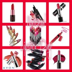 Today is National Lipstick day. What is your favorite color of Avon lipstick? www.youravon.com/lcrayton