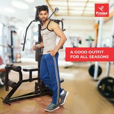 Make #fitness an integral part of your every day routine. It is absolutely essential for leading a healthy lifestyle. Likewise, it is also important to choose the right kind of attire for your #gym routine. Adopt Prisma's #trackpants, that are durable, comfortable even through most rigorous exercises. #prisma #brandprisma #stayhome #staysafe #covid19 #coronavirus #menswear #trackpants #prismagirl #womenswear #prismaleggings #comfortwear #premiumquality #amazonindia #shop #flipkart #trend… Gym Routine, Men's Pants, Exercises, Healthy Lifestyle, Cool Outfits, Women Wear, Leggings, Fitness, Shopping