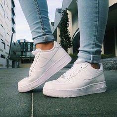 shoes sneakers white nike adidas high tops nike high tops white nikes denim air…