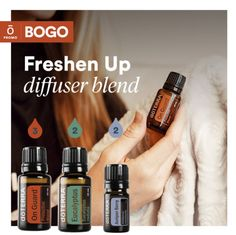 doTERRA BOGO week is happening again starting November Check out the first day essential oil promotion and how you can save money on essential oils! Eden Essential Oils, Hangover Essential Oils, Essential Oils For Breathing, Juniper Berry Essential Oil, Basil Essential Oil, Essential Oil Diffuser Blends, Natural Essential Oils, Doterra Blends, Doterra Essential Oils