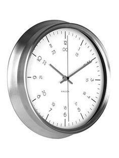 Karlsson Wanduhr  KA5597WH mit 100 Tagen Rückgabe und Tiefpreisgarantie für nur 49,00 EUR bei Uhren4You.de bestellen