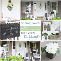 Spring Porch Makeover + $75 Kirkland's Gift Card Giveaway