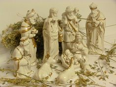 Please visit my shop on Etsy. Vintage porcelain nativity scene / large by cgraceandcompany