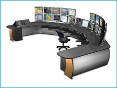 Envision Command Consoles & Control Room Furniture | Winsted ...