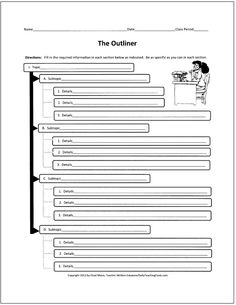 Numerous - Free Graphic Organizers for Teaching Writing