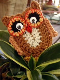 crochelinhasagulhas: Corujas em crochê