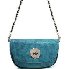 Anais Gvani ® Women's Small Croco Shoulder Bag