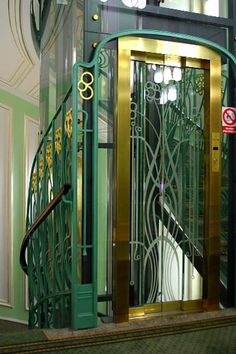Old Fashioned Cage Elevators Library Of Illumination In