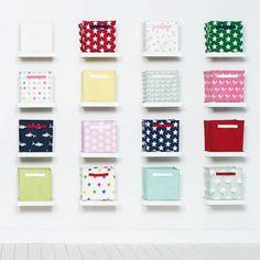 Canvas Storage Cubes - Canvas Cube Storage - Storage - gltc.co.uk