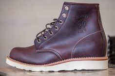 Chippewa Plain-Toe Boots