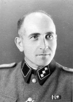 The first head of the Political Department at Auschwitz-Birkenau was SS-Untersturmfuhrer Maximilian Grabner.  Auschwitz Concentration Camp Chain of Command The Historical Timeline http://www.HolocaustResearchProject.org