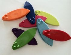 Party Favors  Birthday summer party set of 8 surf by Krazeekrayons, $5.99
