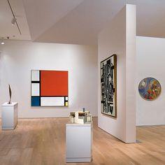 The Critic's Choice: Mondrian, Delaunay, Leger, Rietveld, & Brancusi, 2010 by johnwalford, via Flickr