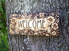 Cottage Charm Welcome by WildwoodCharm on Etsy