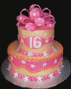 Sweet birthday cake ideas, Birthday cake September A sweet 16 birthday is a special occasion. Maybe we could use a lot of impressive concepts at every layer to sweet 16 birthda. Sweet 16 Birthday Cake, Happy Birthday Cakes, 16th Birthday, Birthday Ideas, Sixteenth Birthday, Birthday Cards, Birthday Parties, Birthday Numbers, Birthday Gifts