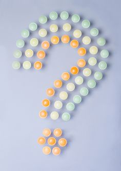 experimental typography with sweets