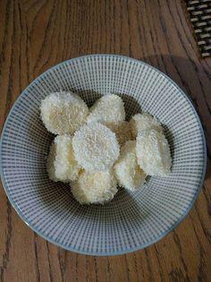 Bento banaan citroensap kokosrasp (wordt niet bruin)